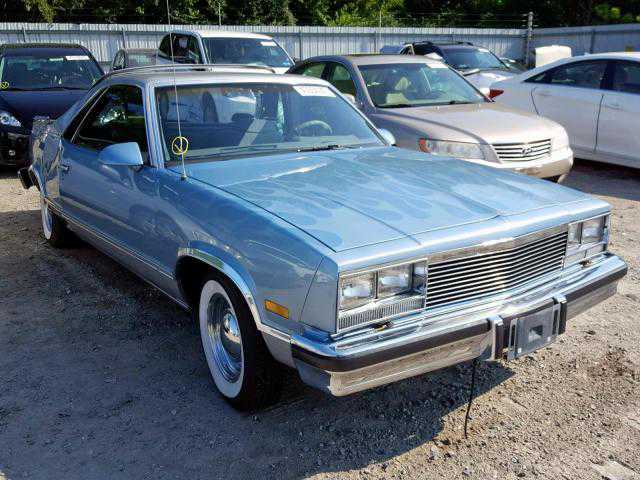 3GCCW80H8HS912265 Chevrolet El Camino Conquista / SS / Standard 2017