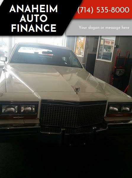 1987 Cadillac Brougham for sale in Anaheim, CA | 1G6DW51Y3H9700199