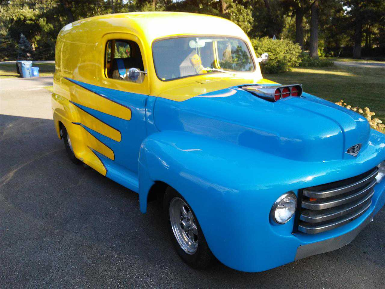 1948 Ford Panel Truck For Sale