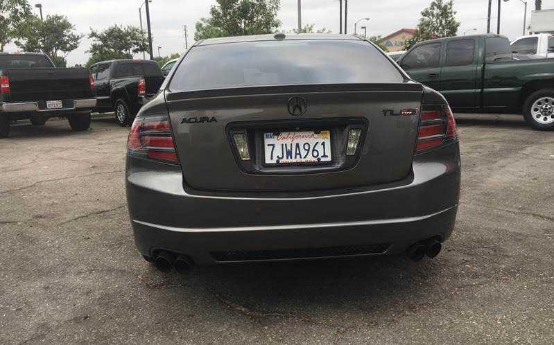 04,05,06,07,08 Acura TL sticker set for:Front bumper,door sills and door handles
