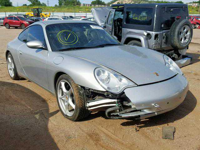 WP0AA29972S620298 Porsche 996 / 911 C4 convertible 2002