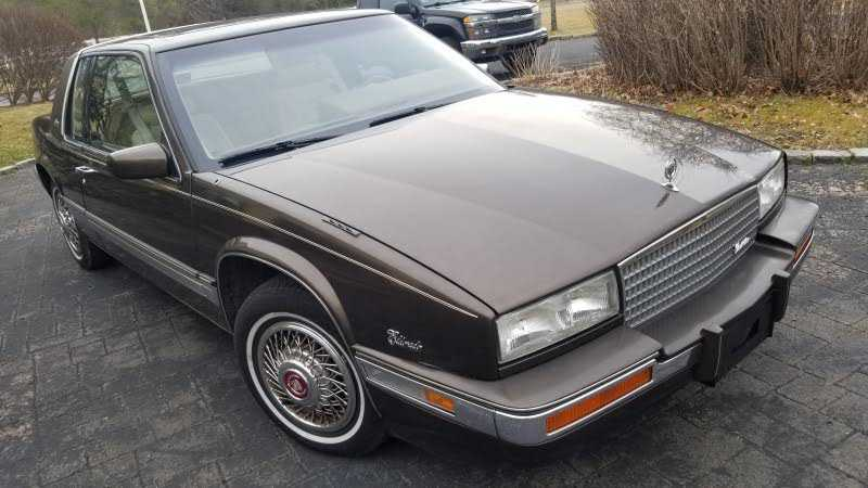 1986 cadillac eldorado for sale in 1g6el5780gu612940 dad s classic cars