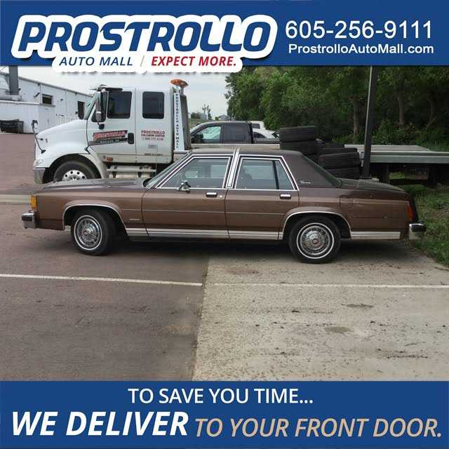1983 Ford Ltd Crown Victoria For Sale In 2fabp43f3db131316