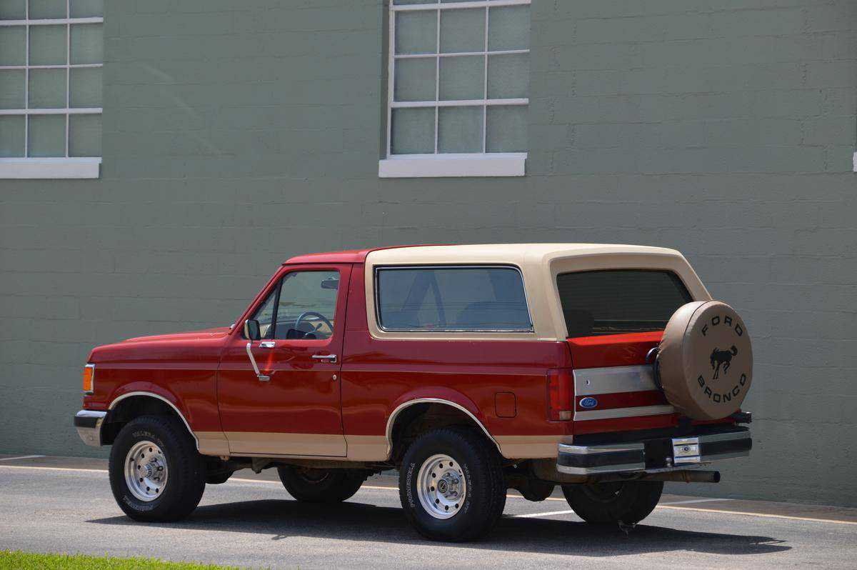 1990 Ford Bronco For Sale In Dallas Tx 1fmeu15n9lla96892