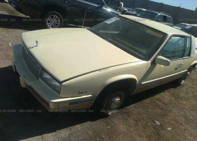 1986 cadillac eldorado for sale in henderson nv 1g6el5781gu611389 dad s classic cars