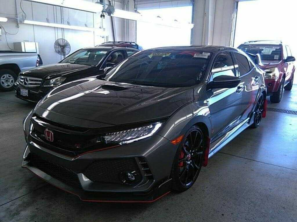 New dark gray Honda