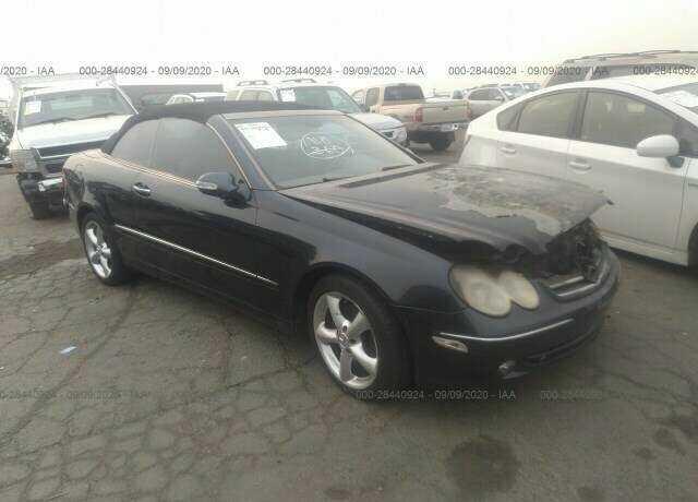 WDBTK65G65T043262 Mercedes-Benz CLK-class A209 / C209 2005