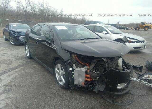 1G1RA6E4XCU127170 Chevrolet Volt 2012
