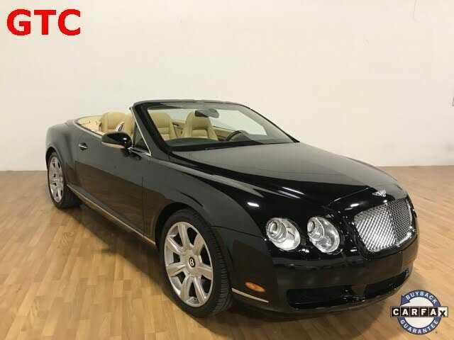 SCBDR33W17C047400 Bentley Continental GTC 2007