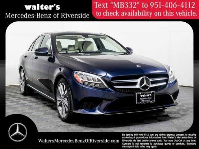 55SWF8DB6KU298799 Mercedes-Benz C-class W205 2019